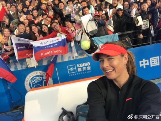 "Shenzhen Open 2019 - Sharapova khiến Bacsinszky phải ""câm nín"" ảnh 1"