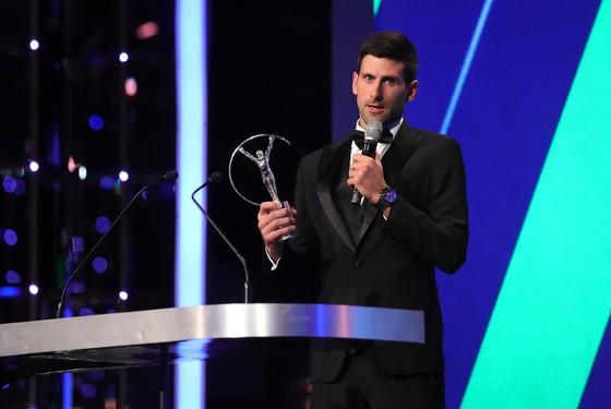 Novak Djokovic trong đêm trao giải