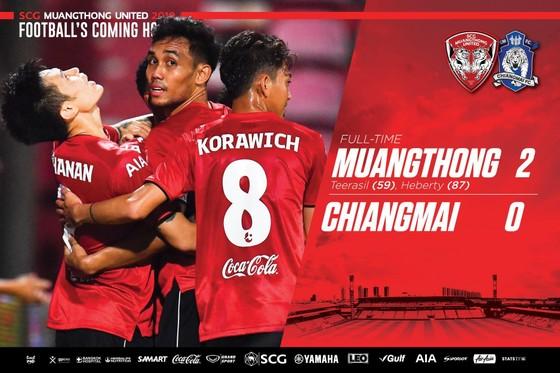 Thai League: Nén đau, Văn Lâm bay lượn như chim, giúp Muangthong thắng trận đầu ảnh 1