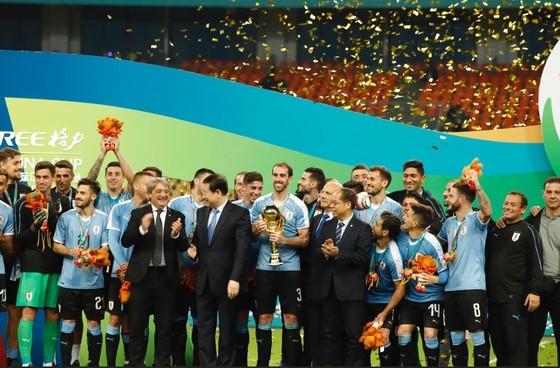 """China Cup 2019: """"Uruguay 2"""" hủy diệt Thái Lan, HLV Tabarez nói lời cay đắng về tuyển Thái ảnh 2"""