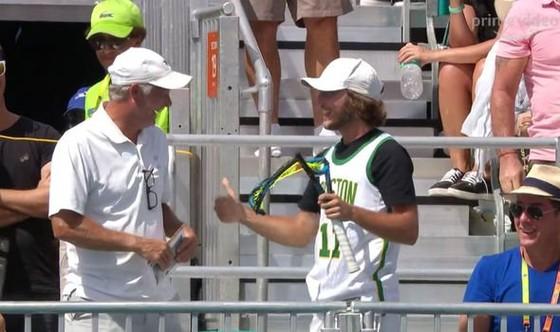 """Miami Open: Djokovic lại bất ngờ bị loại, """"dân chơi"""" Kyrgios cũng rời cuộc chơi ảnh 4"""