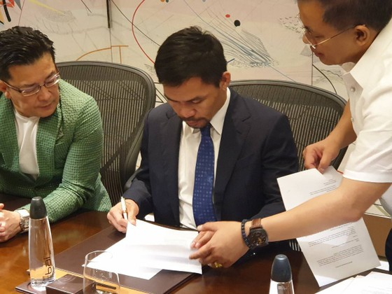 Quyền Anh: Pacquiao ký hợp đồng với Rizin, cũng muốn kiếm tiền triệu USD như Mayweather ảnh 3
