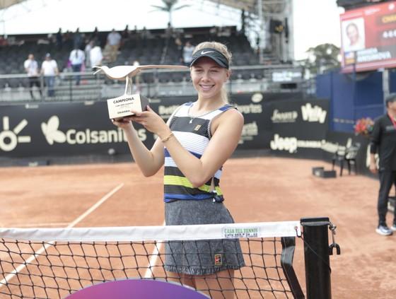 Amanda Anishimova là tay vợt thứ 18 lên ngôi ở WTA Tour 2019