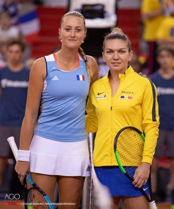 """Fed Cup: Thắng nhờ """"bộ đôi xinh đẹp"""", Pháp vào chung kết, sẽ đấu với Australia ảnh 3"""