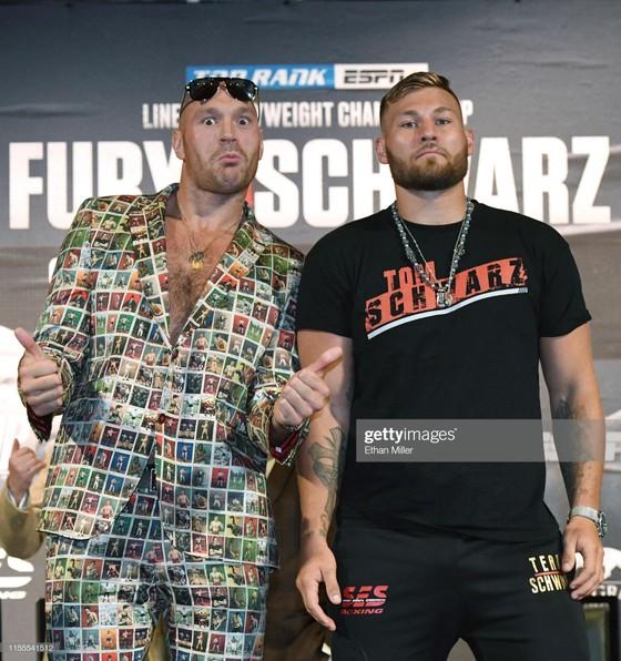 Quyền Anh: Buổi họp báo trận Fury - Schwarz diễn ra như… show tấu hài ảnh 3