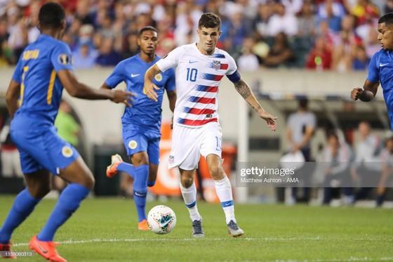 Gold Cup: Pulisic đeo băng thủ quân, kiến tạo giúp tuyển Mỹ thắng đội bóng từng đánh bại Việt Nam ảnh 2