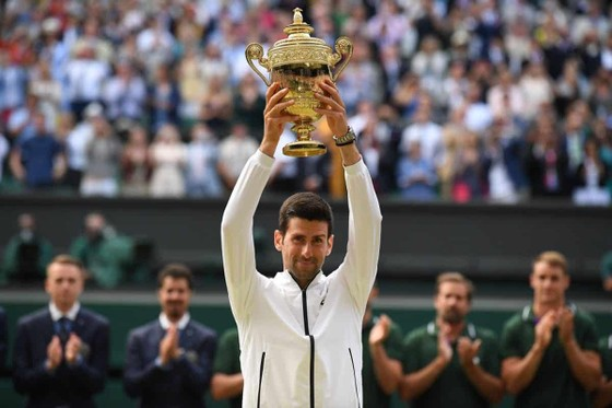 Djokovic vô địch Wimbledon 2019