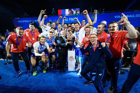 FIVB Volleyball Men's Nations League: Đả bại chủ nhà Mỹ 3-1, Nga vô địch lần thứ 2 liên tiếp ảnh 4