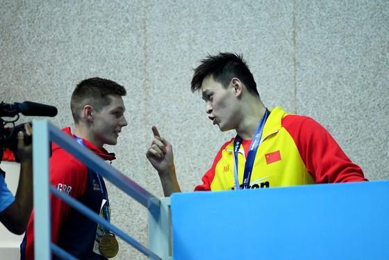"""Giải bơi lội VĐTG: Lại bị phủ nhận chiến thắng, Sun Yang mắng đối thủ: """"Tôi thắng, anh thua"""" ảnh 3"""