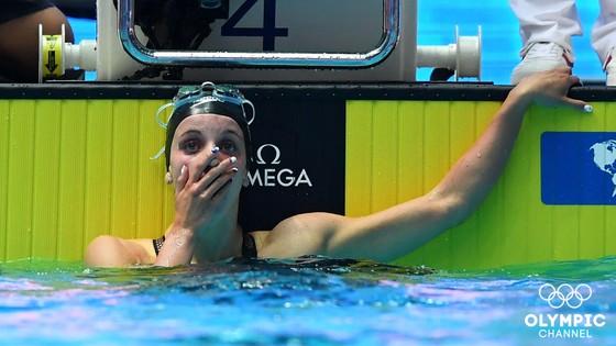 Giải bơi lội VĐTG: Dressel phá KLTG 10 năm tuổi của Phelps,VĐV 17 tuổi cũng phá KLTG 200m ngửa nữ ảnh 3