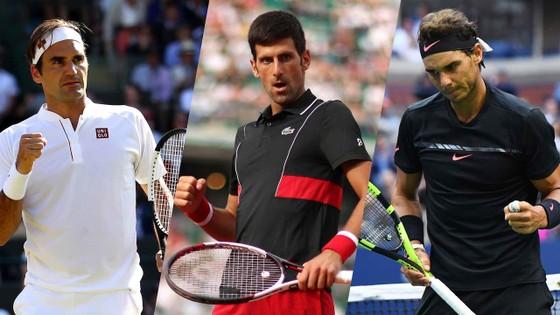 3 đại gia của làng quần vợt thế giới