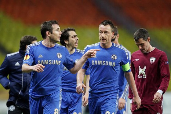 David Luiz và Frank Lampard đã mâu thuẫn từ năm 2013 ảnh 1