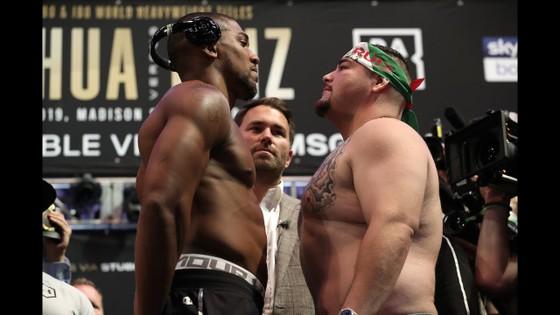 Nhiều khả năng AJ sẽ đối mặt với Ruiz ở Saudi Arabia trong trận tái chiến