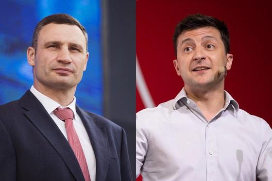 """Đấu tranh quyền lực giữa cựu quyền thủ Klitschko """"anh"""" và Tổng thống Ukraine Zelensky"""