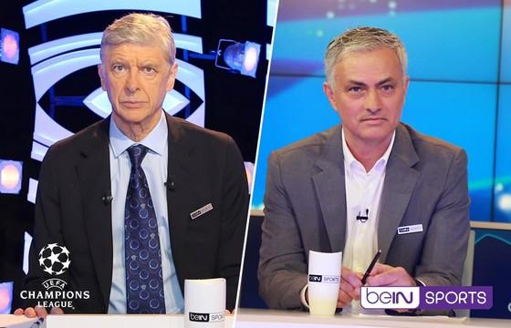 Wenger và Mourinho làm BLV truyền hình ở Champions League
