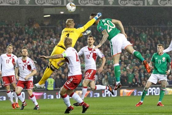 Play-off World Cup 2018: Eriksen ghi hattrick giúp Đan Mạch hạ nhục Ailen ảnh 1