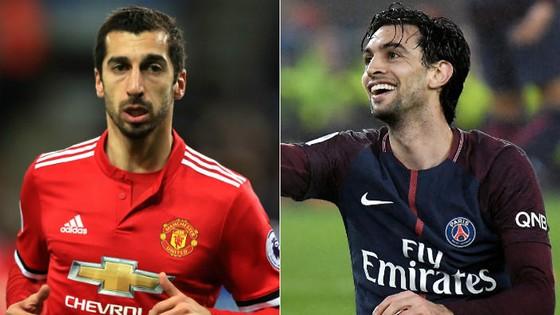 Henrikh Mkhitaryan và Javier Pastore sẽ không đến Inter trong tháng 1. Ảnh: Goal.com