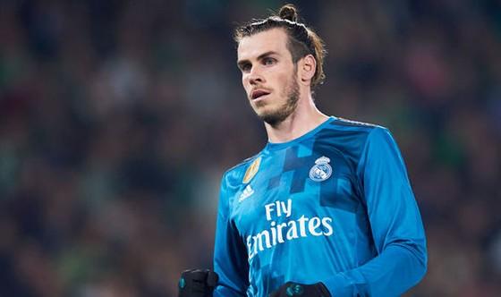Gareth Bale hiếm khi được đá chính ở Real Madrid.