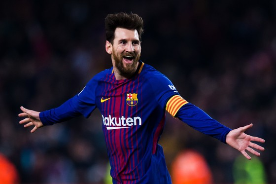 Lionel Messi tỏa sáng với bàn thắng thứ 22 trong 25 trận Liga.