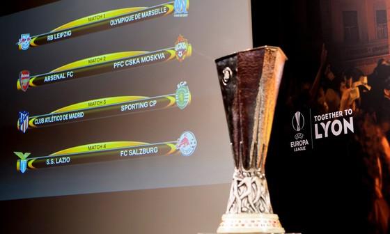 Bốc thăm tứ kết Europa League: Arsenal gặp may khi trúng lá thăm CSKA Moskva ảnh 1