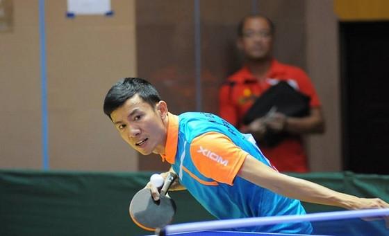 Đinh Quang Linh lần thứ 3 liên tiếp vô địch đơn nam quốc gia. Tác giả: TÙNG LÂM