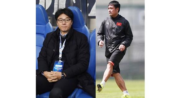 HLV Hữu Thắng và Hwang sun Hong sẽ đọ tài tại Mỹ Đình. Nguồn: tư liệu