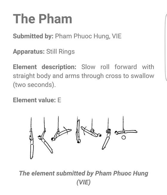 Động tác của Phạm Phước Hưng vào sách kỹ thuật TDDC thế giới ảnh 1