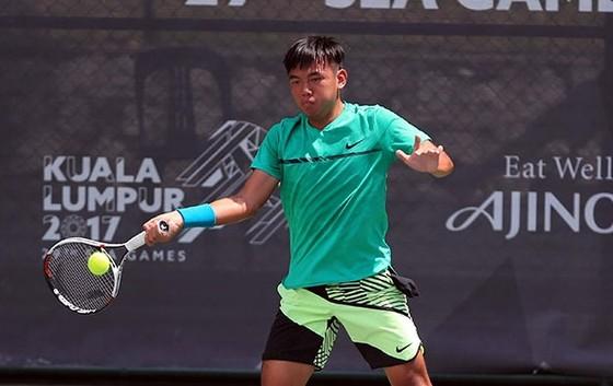 Hoàng Nam chưa cải thiện được thứ hạng tại ATP. Ảnh: DŨNG PHƯƠNG