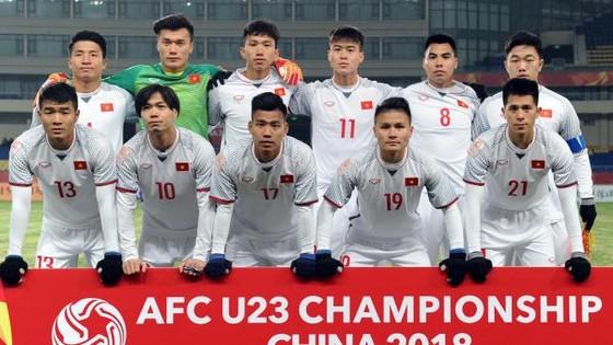 Đội U23 Việt Nam đã nhận được sự động viên từ Thủ tướng Chính phủ Nguyễn Xuân Phúc. Ảnh: VFF