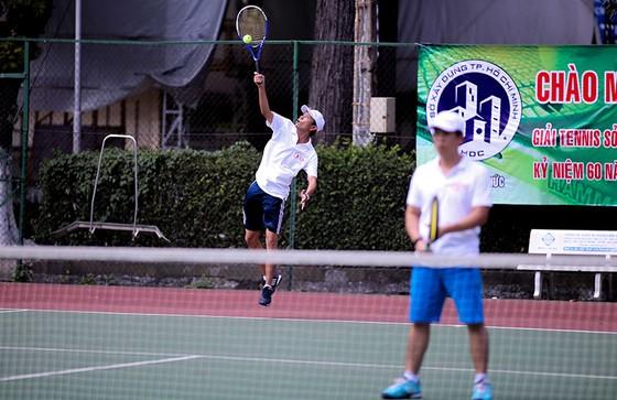 Giải quần vợt Sở Xây dựng các tỉnh, thành phố năm 2018: Sân chơi lành mạnh cho người lao động ảnh 5