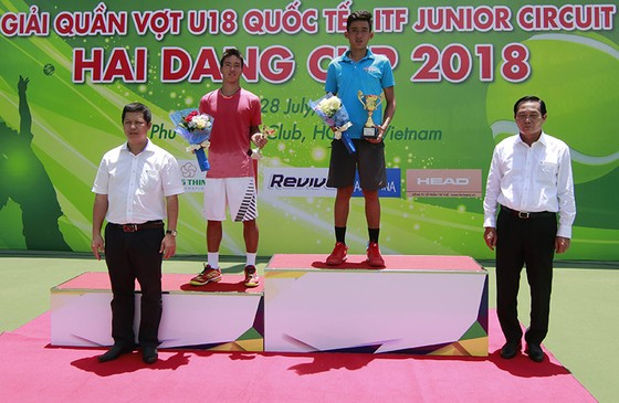 Giải quần vợt U 18 Quốc Tế: Văn Phương vô địch đơn nam ảnh 1