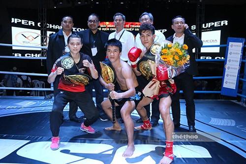 Duy Nhất đánh bại võ sĩ Thái để bảo vệ thành côngđai vô địch USC ảnh 3