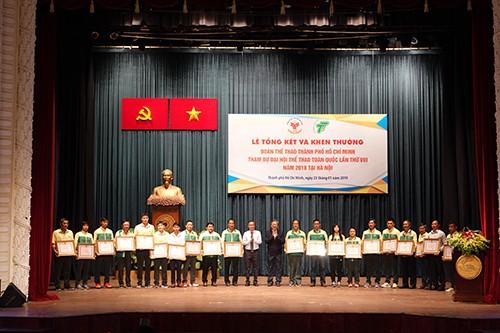 Đại hội TDTT toàn quốc lần thứ VIII: TPHCM khen thưởng 20 tập thể và 68 cá nhân xuất sắc ảnh 1