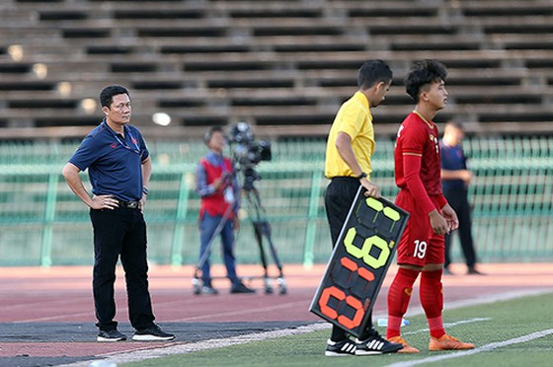 Khoảnh khắc chiến thắng của U22 Việt Nam trước U22 Philippines ở trận ra quân ảnh 4