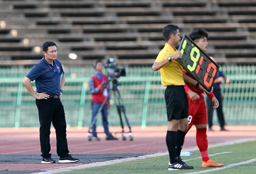 Khoảnh khắc chiến thắng của U22 Việt Nam trước U22 Philippines ở trận ra quân ảnh 6