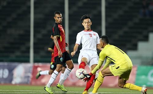 Ngất ngây cùng những phút giây chói sáng của tuyển thủ U22 Việt Nam ảnh 1
