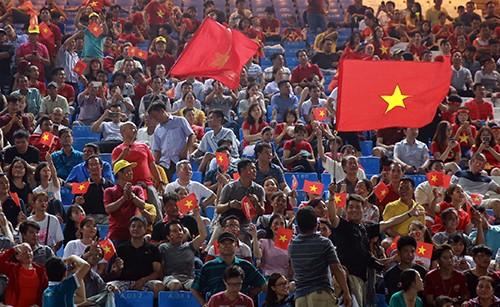 """Cộng đồng người Việt tại Campuchia """"tiếp lửa"""" U22 Việt Nam đánh bại Timor Leste ảnh 6"""