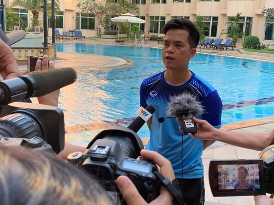 Bác sĩ Huy THọ cho biết cho biết Hoàng Nam - Danh Trung đang hồi phục rất tốt. Ảnh: Dũng Phương