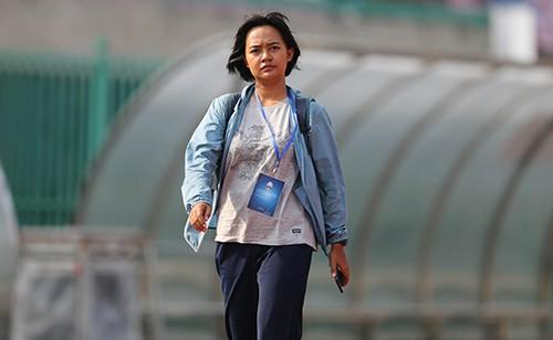 Phóng viên Indonesia do thám tuyển U22 Việt Nam tập trước trận bán kết ảnh 6