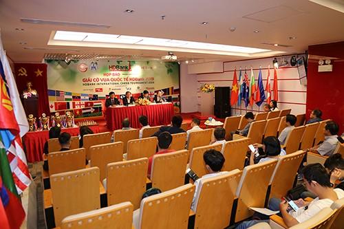 Giải cờ Vua Quốc tế HDBank năm 2019: Lê Quang Liêm không tham dự ảnh 1