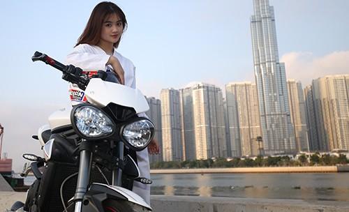 Người đẹp Karatedo Bùi Minh Anh chia sẻ những điều thú vị trong ngày 8-3 ảnh 6