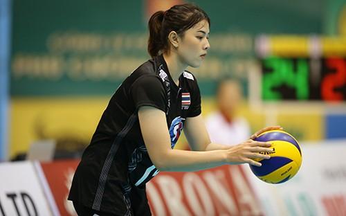 """Ngẩn ngơ trước vẻ đẹp của các """"chân dài"""" bóng chuyền tại Cúp VTV9 Bình Điền năm 2019  ảnh 4"""
