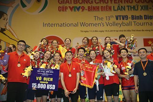 Cúp bóng chuyền nữ quốc tế VTV9 Bình Điền 2019: Tứ Xuyên vượt qua BIP để lên ngôi ảnh 6