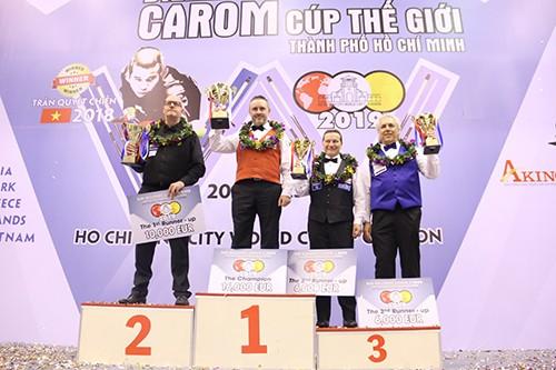 World Cup Billiards 3 băng TPHCM 2019: Tay cơ Frederic Caudron lên ngôi vô địch ảnh 2