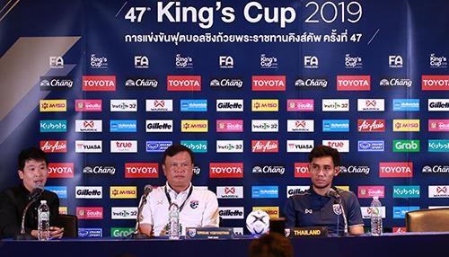Tuyển Thái Lan không giấu mục tiêu đoạt King's Cup ảnh 1
