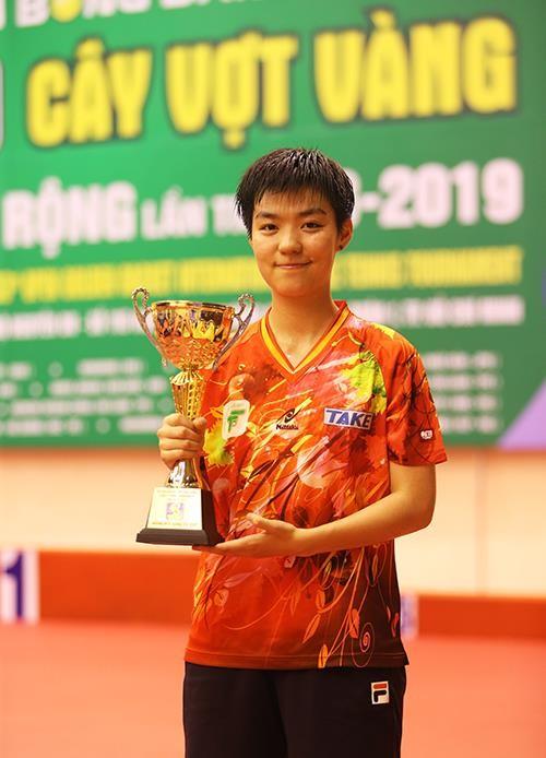Giải bóng bàn Cây vợt vàng 2019: Ngoại binh Sun Chen giúp TPHCM vô địch đơn nữ ảnh 1