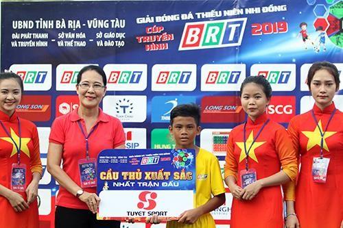 Giải bóng đá thiếu nhi Bà Rịa - Vũng Tàu 2019: Cầu thủ Lê Thái Vũ ghi đến 21 bàn thắng ảnh 6