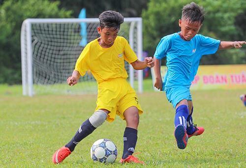 Giải bóng đá thiếu nhi Bà Rịa - Vũng Tàu 2019: Cầu thủ Lê Thái Vũ ghi đến 21 bàn thắng ảnh 1