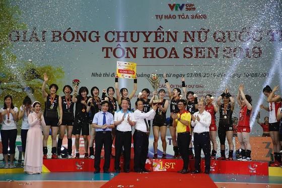 Đội tuyển nữ Việt Nam về nhì tại VTV Cup 2019 ảnh 4