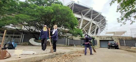 """Khám phá sân Thammasat chuẩn bị cho """"đại chiến"""" Thái Lan - Việt Nam ảnh 6"""